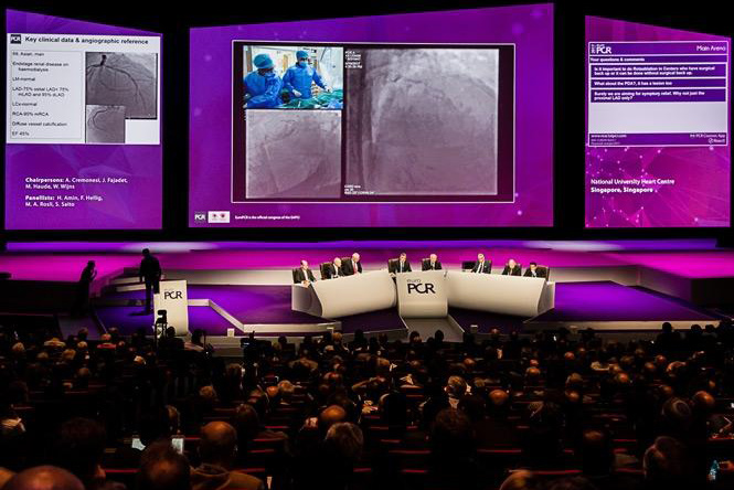 Stent Save a Life at EuroPCR 2018